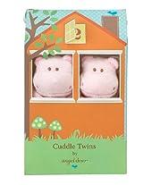 Angel Dear Cuddle Twin Set, Pink Hippo