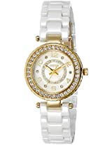 Aspen Ceramic Analog White Dial Women's Watch - AP1785