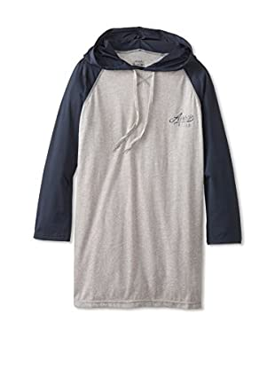 athletic recon Men's Cruiser Long Sleeve Tee with Hood
