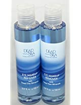 Dead Sea Collection Set of 2 Eye Makeup Remover with Dead Sea Minerals
