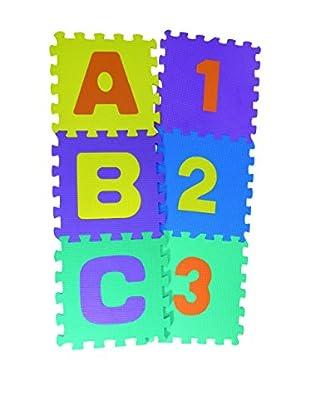 JOCCA Teppich Kids Puzzle 1718