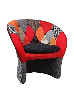 SuperStudio Sillón The Name Tapizado Mix Patchwork