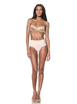 Mission Control Women's Contour Lace Thong (Shell)