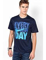Blue Round Neck T-Shirts