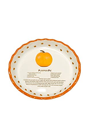 Aunt Beth's Cookie Keepers Pumpkin Pie Plate