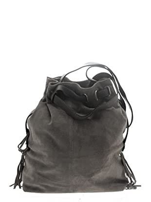 Pascal Morabito Leder-Henkeltasche Claire (Taupe)