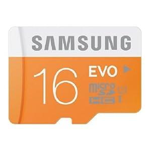 Samsung EVO 16gb class 10 micro sdhc Memory Card with adapter