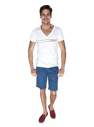 Giorgio Di Mare Camiseta Carlos Carr (Blanco)