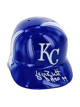 Steiner Sports Memorabilia George Brett Signed Kansas City Royals Batting Helmet, 14