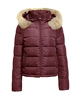 FRENCH COOK Daunenjacke Down Jacket . Item Delivered Folded Under Blister. Detachable Raccoon Fur Trimmed Hood. Logo On The Sleeve. Downjackets Are Slim Fitted. Do Not Hesitate To Take One Size Above The One You Usually Buy.