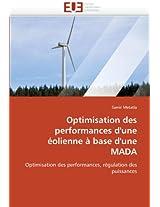 Optimisation Des Performances D''Une Eolienne a Base D''Une Mada (Omn.Univ.Europ.)