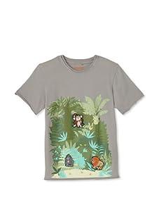 SwitchittZ Boy's Tropic Jungle Tee (Grey)