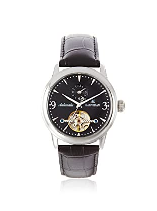 Earnshaw Men's 8003-01 Regency Black Stainless Steel Watch