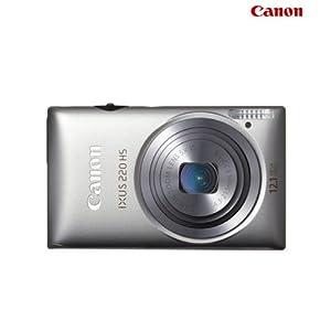 Canon IXUS 220 HS Digital Camera-Silver