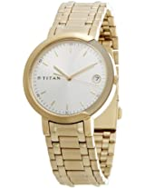 Titan Bandhan Analog White Dial Pair Watch - NC19632963YM01