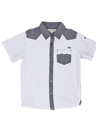 Naf Naf Chevignon Camisa Bolsillo (Multicolor)