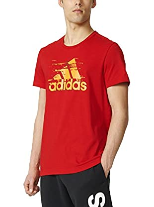 adidas Camiseta Manga Corta Ess Logo