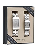 Kenneth Cole Analog Silver Dial Women's Watch - IKC7007