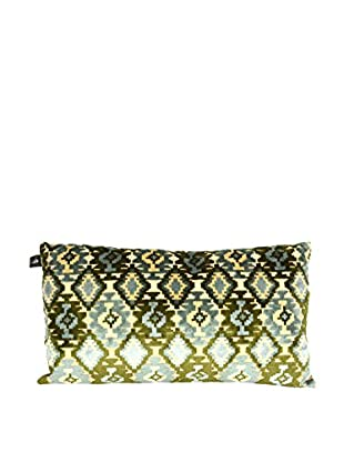 Uptown Down Azteca Pillow, Green