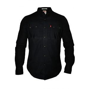Levis Men Black Casual Shirt