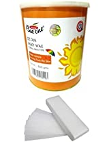 Beeone DE-TAN Milky Wax and 100 Strips (800 g)