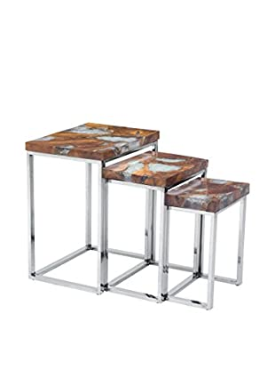 Zuo Fissure Nesting Tables, Natural