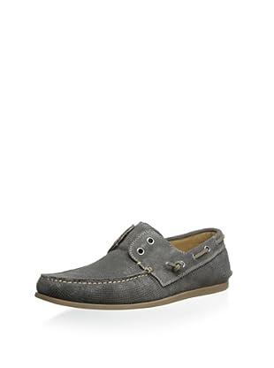 John Varvatos Men's Schooner Boat Shoe (Oxide)