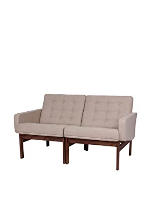 Stilnovo The Ellen Love Seat, Beige