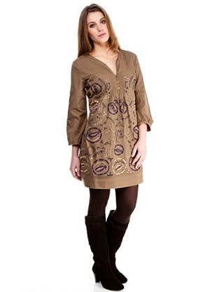 Almatrichi Vestido September (marrón)