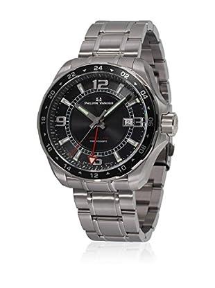 PHILIPPE VANDIER Uhr mit schweizer Quarzuhrwerk 77100  42 mm