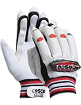 Cosco Club Batting Glove (White and Red)