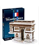 3 D Arc De Triomphe In Paris Puzzle