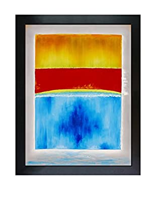 Mark Rothko Untitled (Yellow, Red, And Blue) Framed Hand-Painted Reproduction