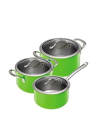 Kuhn Rikon Topf Set Colori®, 3-teilig grün