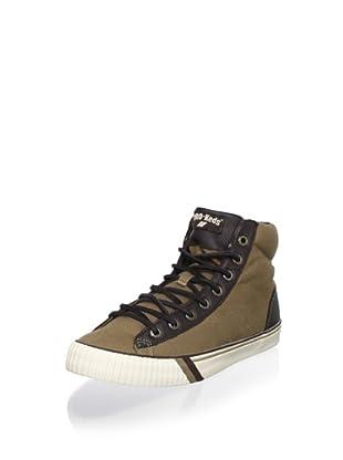 PRO-Keds Men's Royal Plus Hi Fashion Sneaker (Khaki)