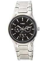 Timex Fashion Analog Black Dial Men's Watch - K703