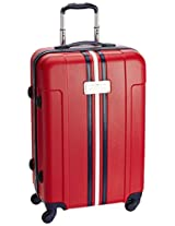 Tommy Hilfiger ABS 65 cms Red Hard sided Suitcase (TH/WEM04065)
