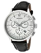 Movado Circa Analogue White Dial Men's Watch - 606575