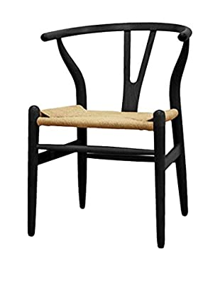 Manhattan Living Woodstring Dining Chair, Black