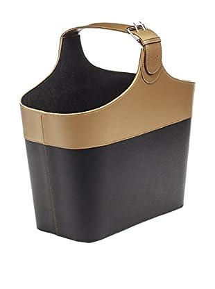 Braid Concept Revistero Negro/Marrón