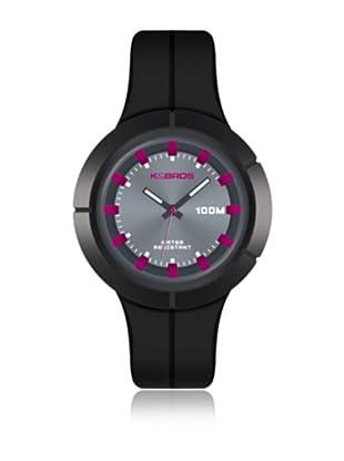 K&BROS Reloj 9573 (Negro)