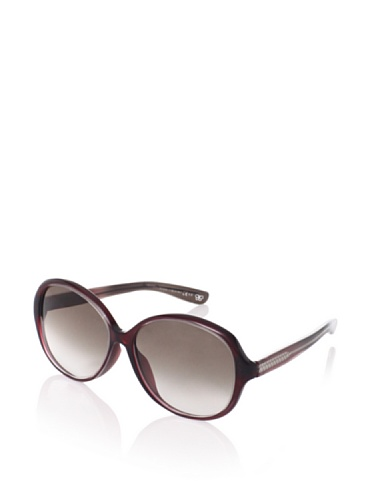 Bottega Veneta Women's BV163/F/S Sunglasses (Crystal Burgundy)