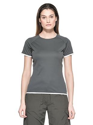 Salewa Camiseta Montia Dry W (Antracita)