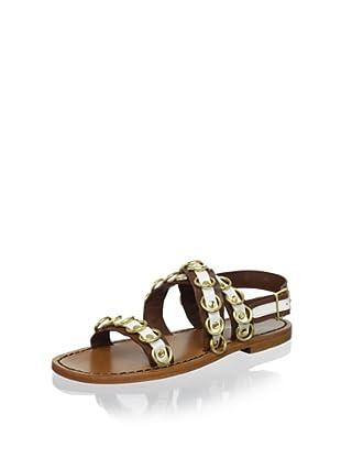 MARNI Women's Ring Sandal (Cinnamon/Lily White)