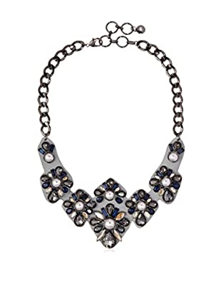 Fragments Montana & Pearl Leather Statement Necklace