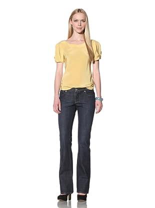 Christopher Blue Women's Valley Flare Jean (Meteor)