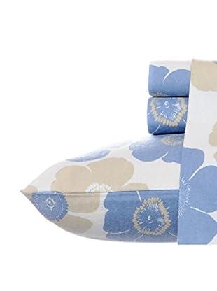 Laura Ashley Poppy Bloom Sheet Set Flannel