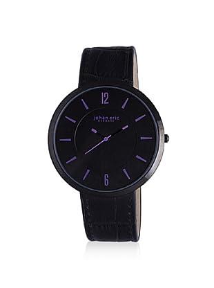Johan Eric Women's JE5001-13-007A Vejle Analog Display Quartz Black Watch