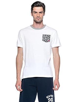 Converse Camiseta Mc Logo (Blanco / Gris)
