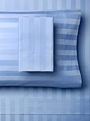 Westport Linens Damask Stripe Sheet Set